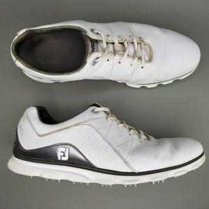 FootJoy FJ Pro / SL Spikeless Golf Shoes 12 White